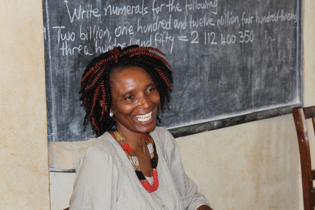 Amie Kadeh arbeitet mit dem International Rescue Committee zusammen und setzt sich für die Rechte der Frauen ein. - Bildquelle: Fremantle