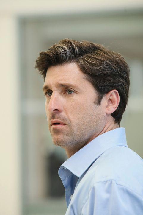 Ein schreckliches Ereignis bricht auf Derek (Patrick Dempsey) und seine Kollegen im Seattle Grace Hospital herein ... - Bildquelle: Touchstone Television