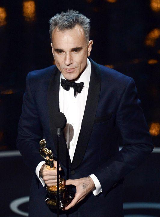 Daniel Day Lewis gewinnt Oscar - Bildquelle: AFP