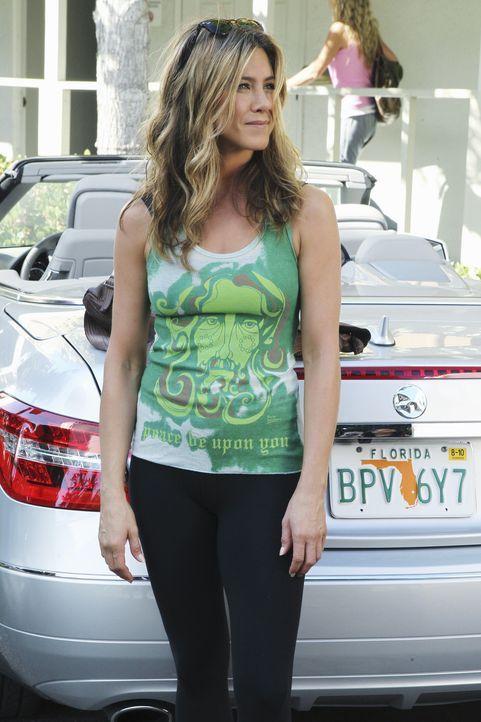 Hilft Jules über den Trennungsschmerz von Travis hinwegzukommen: Therapeutin Glenn (Jennifer Aniston) ... - Bildquelle: 2010 ABC INC.