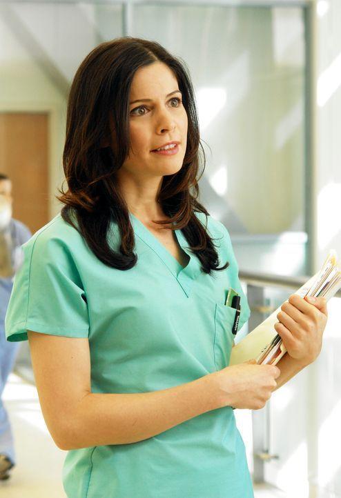 Derek findet Gefallen an Rose (Lauren Stamile) ... - Bildquelle: Touchstone Television