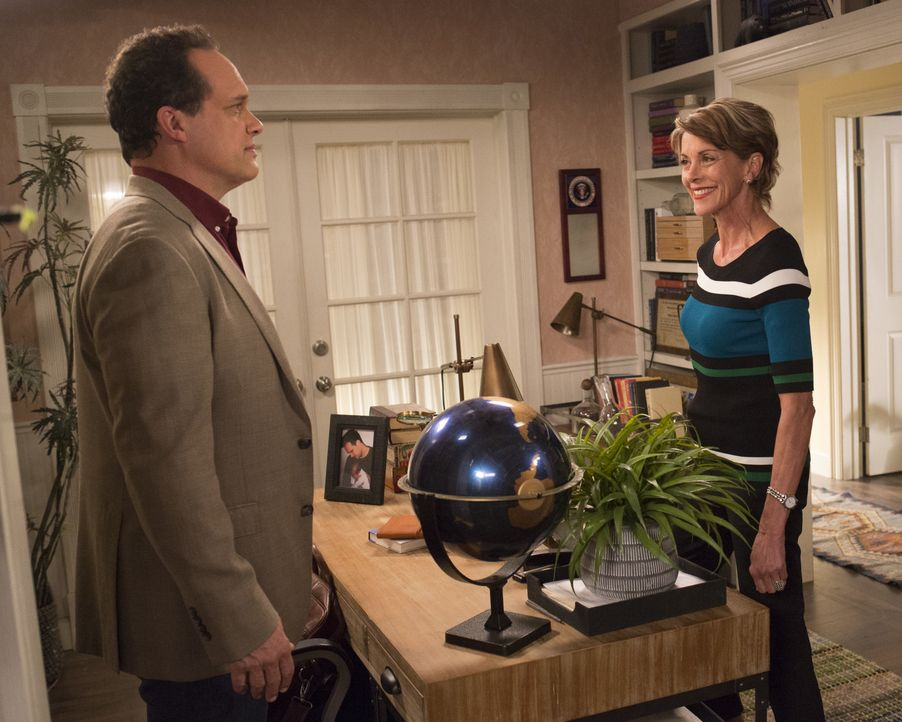 Greg (Diedrich Bader, l.); Kathryn (Wendie Malick, r.) - Bildquelle: Michael Ansell 2018 American Broadcasting Companies, Inc. All rights reserved. / Michael Ansell