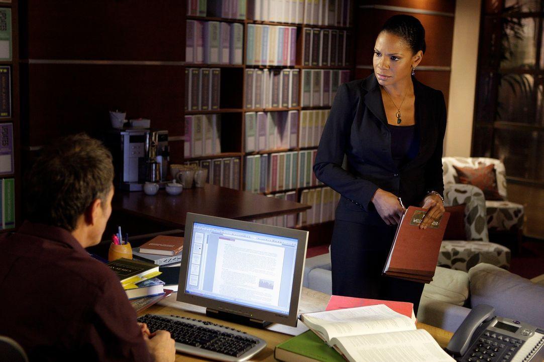 Ihr Privatleben verläuft nicht immer in geraden Bahnen: Pete (Tim Daly, l.) und Naomi (Audra McDonald, r.) ? - Bildquelle: ABC Studios
