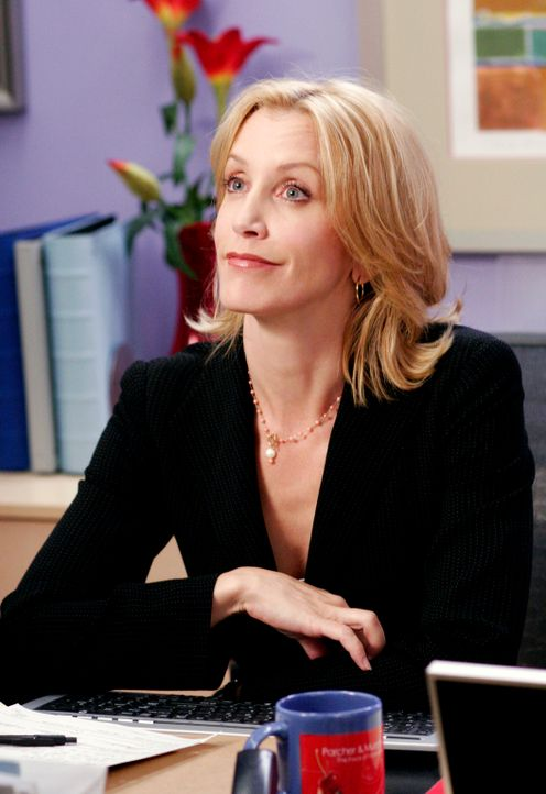 Hat ihre Probleme mit Nina, die sich in der Agentur wie ein Tyrann verhält: Lynette (Felicity Huffman) ... - Bildquelle: 2005 Touchstone Television  All Rights Reserved