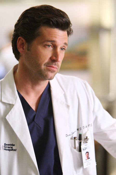 Macht sich Sorgen um seinen Job: Derek (Patrick Dempsey) ... - Bildquelle: Touchstone Television