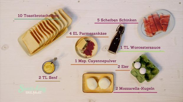 Harry's Bar Sandwich_Zutaten