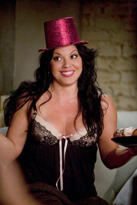 Plant eine Geburtstagsüberraschungsparty für Arizona: Callie (Sara Ramirez) ... - Bildquelle: Touchstone Television