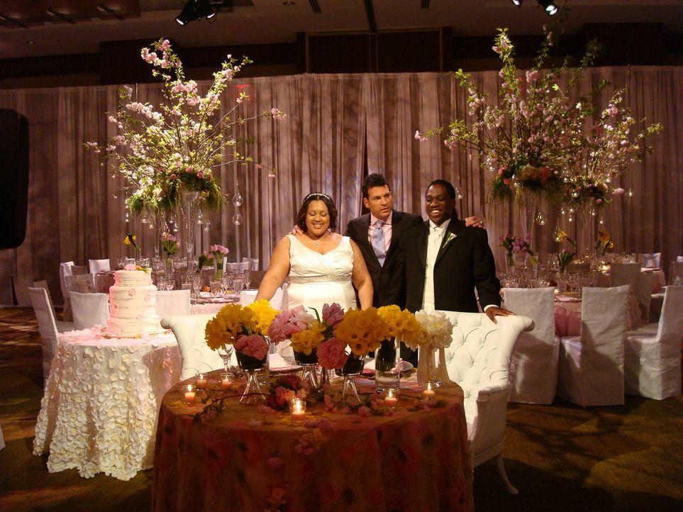 Braut Quiana wünscht sich eine Wintermärchen-Hochzeit - mitten im Frühling. ... - Bildquelle: Pilgrim Studios 2009