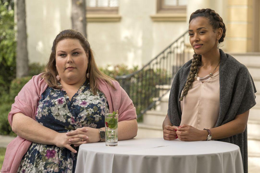 Kate Pearson (Chrissy Metz, l.); Zoe (Melanie Liburd, r.) - Bildquelle: Ron Batzdorff 2018 NBCUniversal Media, LLC
