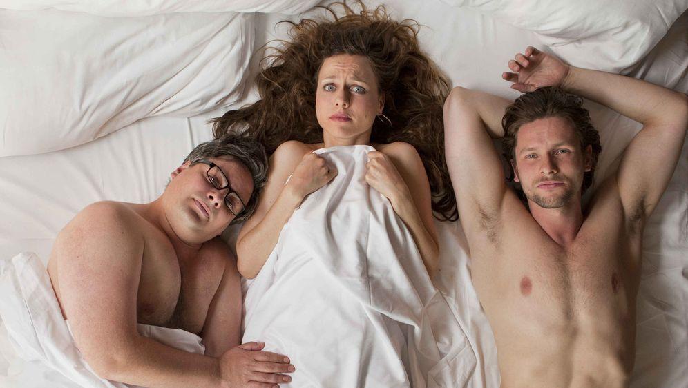 Drei in einem Bett - Bildquelle: SAT.1
