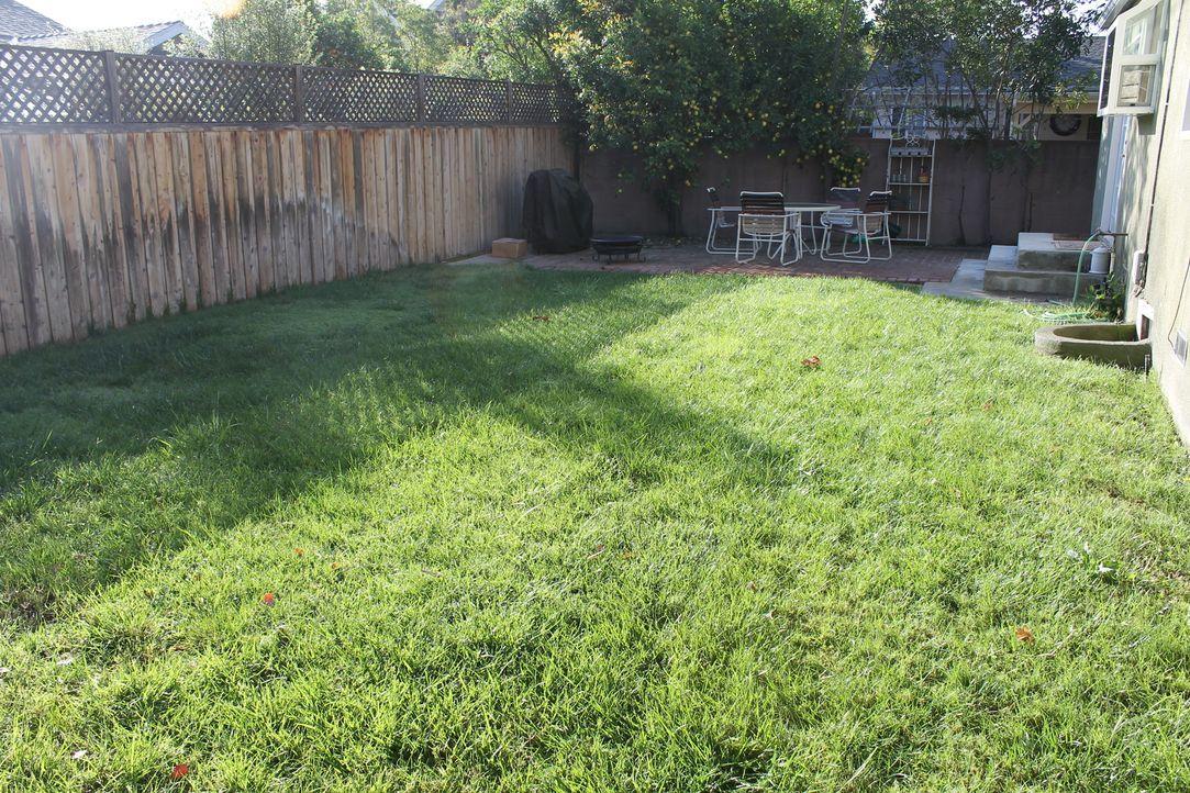 Sara Bendrik erschafft für das Paar Ali und Omid einen wunderschönen Garten, mit eigenen Weinreben ... - Bildquelle: 2014, DIY Network/Scripps Networks, LLC. All Rights Reserved.