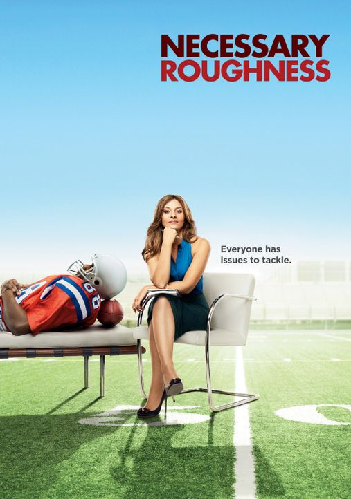 (1. Staffel) - Hat nicht jeder ein Problem? Psychologin Danielle Santino (Callie Thorne) wird beratende Psychologin eines Footballteams ... - Bildquelle: 2011 Sony Pictures Television Inc. and Universal Network Television LLC.  All Rights Reserved.