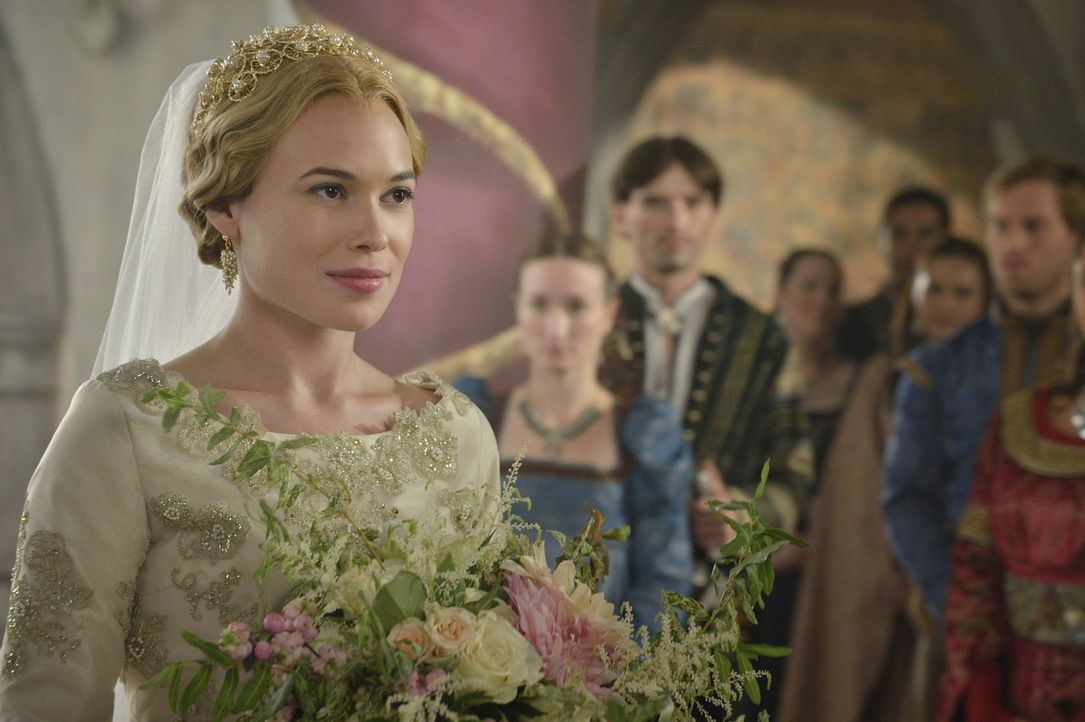 Greers (Celina Sinden) Entscheidung scheint festzustehen: Sie wird Lord Castleroy heiraten ... - Bildquelle: Ben Mark Holzberg 2014 The CW Network, LLC. All rights reserved.