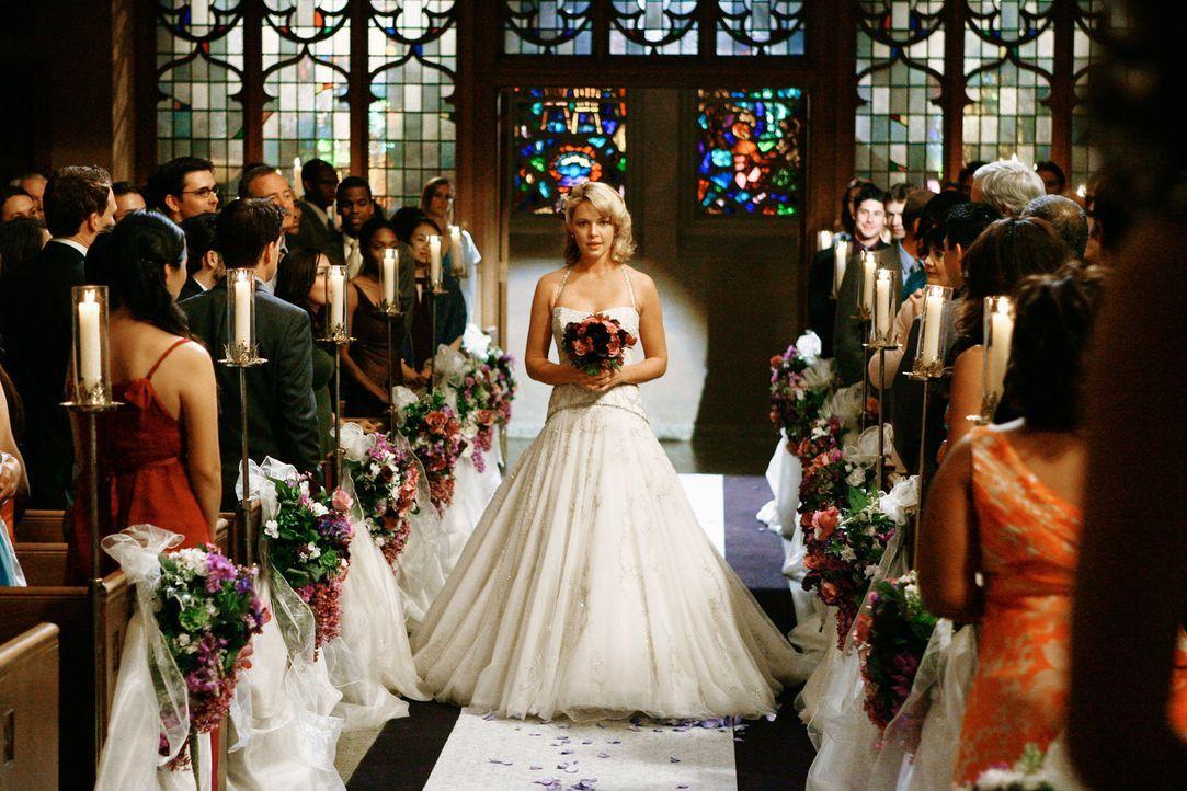 Dank ihrer Freunde erlebt Izzie (Katherine Heigl) den schönsten Tag ihres Leben ... - Bildquelle: Touchstone Television