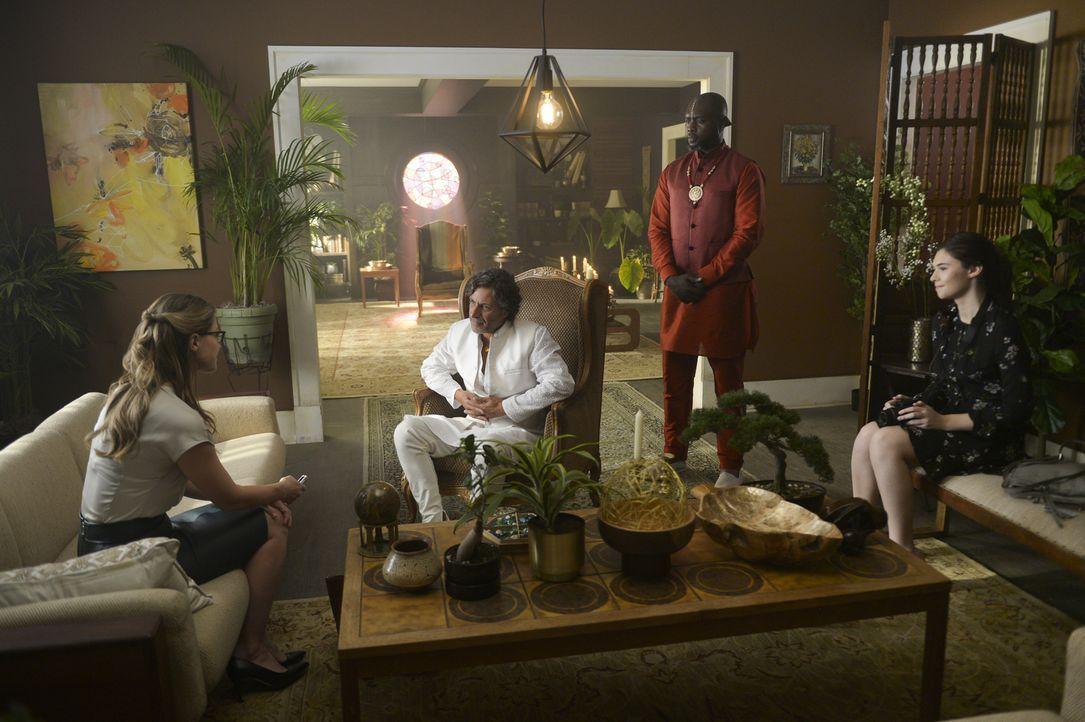 (v.l.n.r.) Kara (Melissa Benoist); Amadei Derros (Adam Levy); Cassian (Kwesi Ameyaw); Nia Nal (Nicole Maines) - Bildquelle: Sergei Bachlakov 2018 The CW Network, LLC. All Rights Reserved.