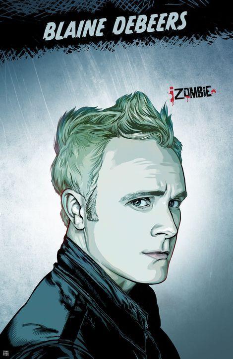 (1. Staffel) - Blaine DeBeer (David Anders) ist der erste andere Zombie, den Liv begegnet. Was sie nicht weiß: Er ist für ihre Infektion verantwortl... - Bildquelle: 2014 Warner Brothers