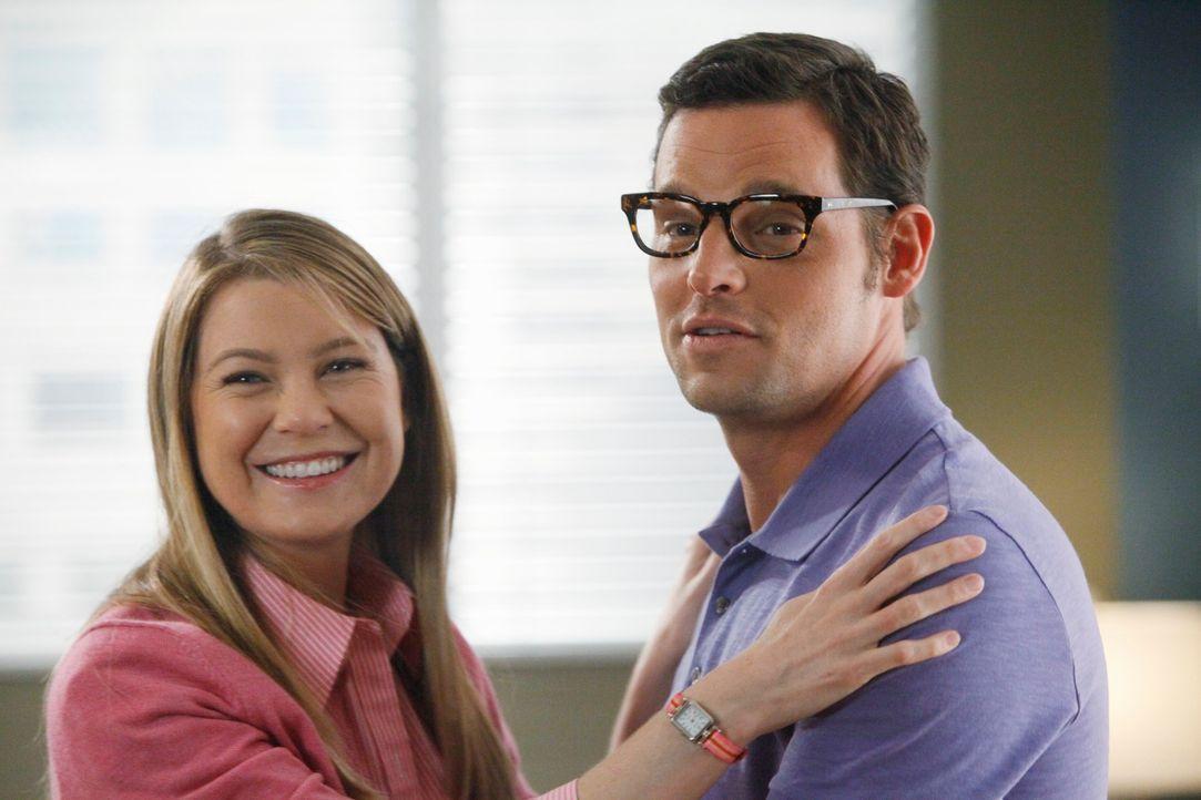Wie wäre das Leben von Alex (Justin Chambers, r.) und Meredith (Ellen Pompeo, l.) verlaufen, wenn sie sich in einem Punkt ihres Lebens anders entsch... - Bildquelle: ABC Studios