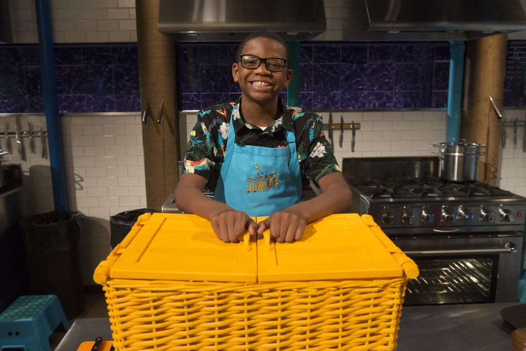 Für Marcus ist Kochen eine Wissenschaft - und er liebt Wissenschaft. Wie weit werden ihn seine Kochkünste bei Chopped Junior bringen? - Bildquelle: Scott Gries 2015, Television Food Network, G.P. All Rights Reserved
