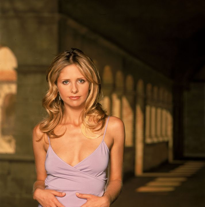 (5. Staffel) - Kämpft weiter gegen das Böse: Buffy (Sarah Michelle Gellar) - Bildquelle: 2000-2001 Twentieth Century Fox Film Corporation. All rights reserved.