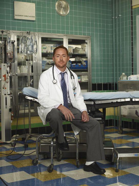(14. Staffel) - Stets im Einsatz, um Leben zu retten: Dr. Morris (Scott Grimes) ... - Bildquelle: Warner Bros. Television