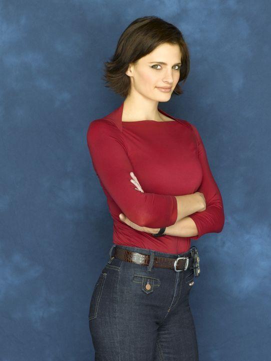 (1. Staffel) - Die hartnäckige Detektivin Kate Beckett (Stana Katic) hat eine Vorliebe für außergewöhnliche Fälle, die in kein Schema passen. - Bildquelle: ABC Studios