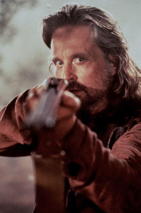 Remington (Michael Douglas) steht der Bestie Auge in Auge gegenüber ... - Bildquelle: Paramount Pictures