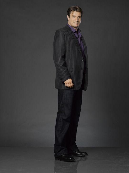 (3. Staffel) - Auch weiterhin will Richard Castle (Nathan Fillion) das Team von Kate Beckett unterstützen. Doch will Kate das auch? - Bildquelle: ABC Studios