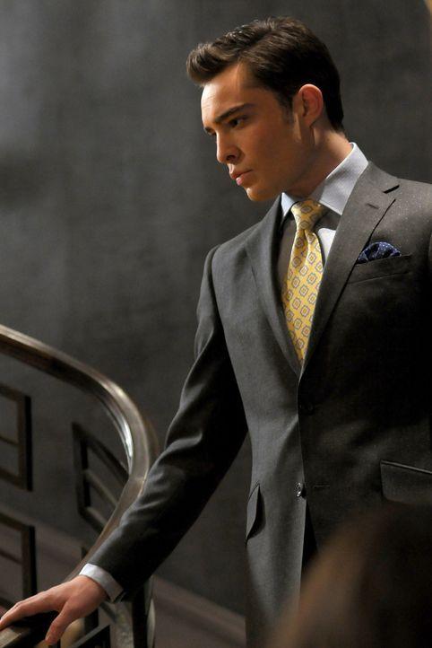 Chuck (Ed Westwick) merkt, dass Blair ihre beste Freundin vermisst und versucht, zu vermitteln. - Bildquelle: Warner Bros. Television