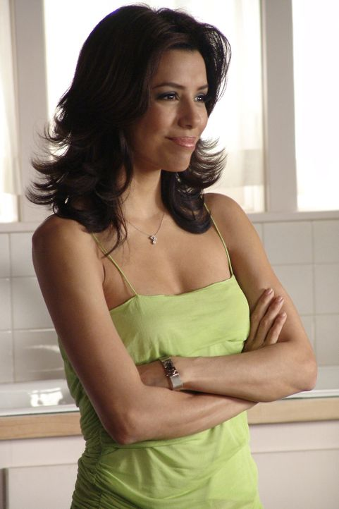 Carlos stellt Gabrielle (Eva Longoria) ein Ultimatum und erzählt ihr, was er tun wird, wenn sie ihn verlassen wird ... - Bildquelle: Touchstone Television