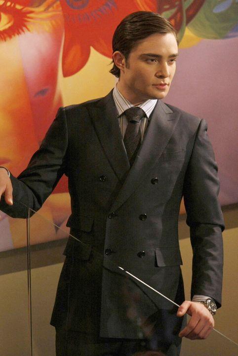 Ist eifersüchtig auf Nate: Chuck (Ed Westwick) ... - Bildquelle: Warner Brothers