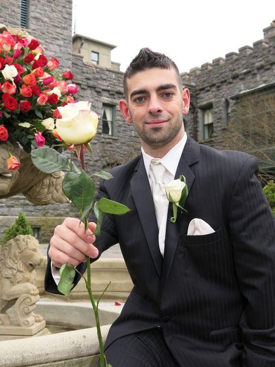 Auch Rick möchte die perfekte Hochzeit feiern und die traumhafte Hochzeitsreise gewinnen ... - Bildquelle: Richard Vagg DCL