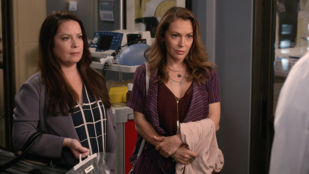 Heidi Peterson (Holly Marie Combs); Haylee Peterson (Alyssa Milano) - Bildquelle: 2019 American Broadcasting Companies, Inc. All rights reserved.