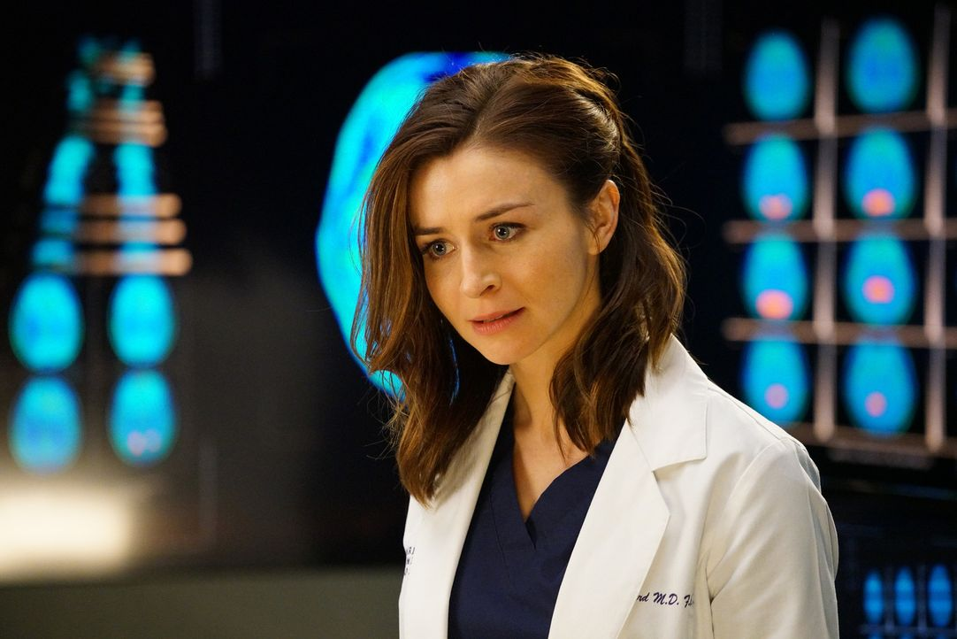 Amelia (Caterina Scorsone) stellt eine neue Behandlungsmethode bei einer Neuropatientin vor, die Stephanie durchführen soll. Doch diese weigert sich... - Bildquelle: Adam Taylor ABC Studios