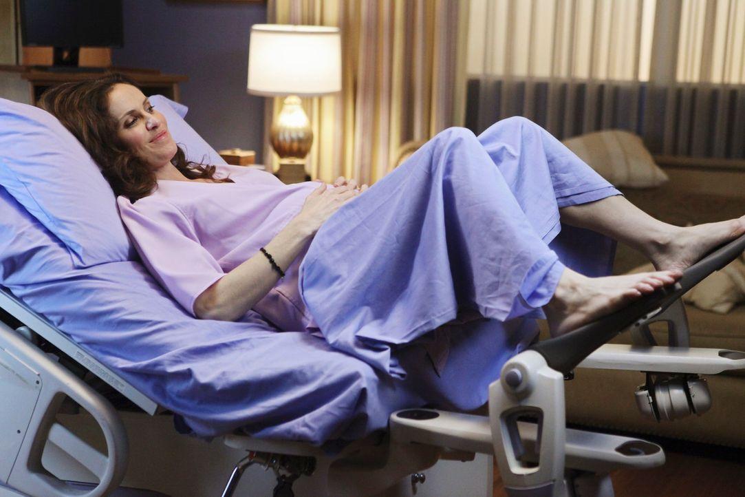 Glaubt, Wehen zu haben, doch es war nur falscher Alarm: Violet (Amy Brenneman) ... - Bildquelle: ABC Studios