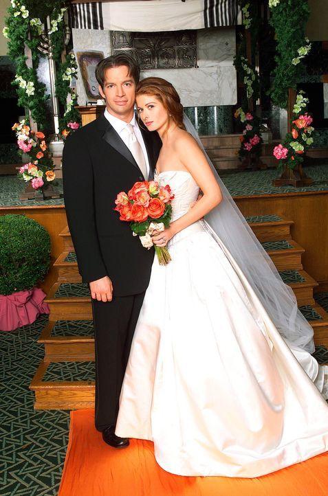 Grace und Leo erfahren, dass ihre Heirat aus formal-juristischen Gründen ungültig ist. Nach anfänglichem Zögern lässt sich Grace (Debra Messing... - Bildquelle: NBC Productions