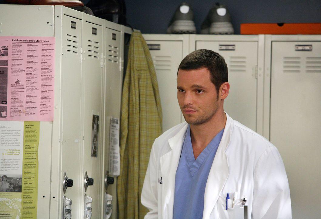 Alex (Justin Chambers) hat genug davon, von Addison ignoriert zu werden und stellt sie zur Rede ... - Bildquelle: Touchstone Television