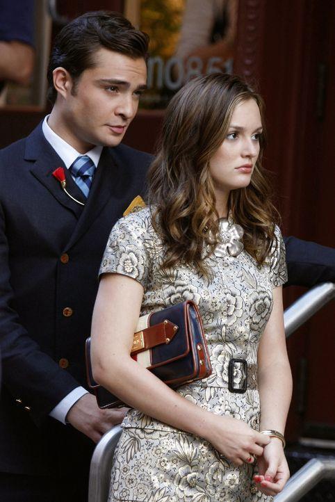 Wollen Chuck (Ed Westwick, l.) und Blair (Leighton Meester, r.) wirklich ihre Spielchen beenden? - Bildquelle: Warner Brothers