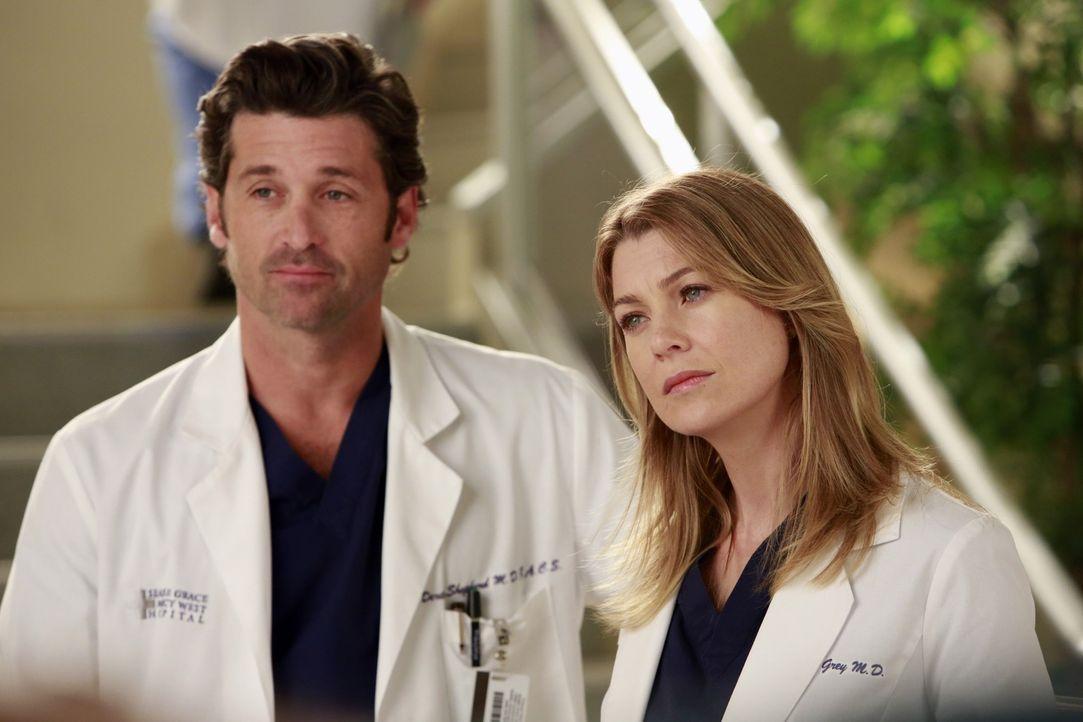 Die Assistenzärzte finden sich inmitten des Dramas am Seattle Grace wieder: Meredith (Ellen Pompeo, r.) bittet Heather um das Unmögliche, sie soll D... - Bildquelle: ABC Studios