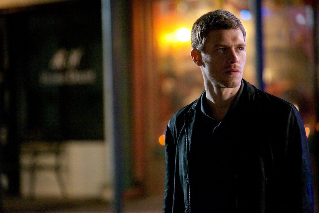 Als Klaus (Joseph Morgan) entdeckt, in welch einer Gefahr Hayley und das ungeborene Kind schweben, mobilisiert er ungeahnte Kräfte, um sie zu schütz... - Bildquelle: Warner Bros. Television