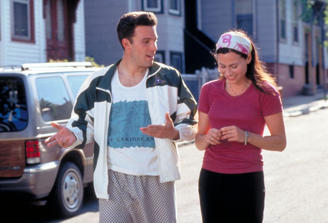 Chuckie (Ben Affleck, l.); Skylar (Minnie Driver, r) - Bildquelle: Paramount Pictures and Miramax. All Rights Reserved.