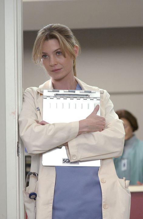 Meredith (Ellen Pompeo) versucht, den charmanten Avancen von Derek zu widerstehen, was ihr aber nicht immer ganz leicht fällt ... - Bildquelle: Touchstone Television