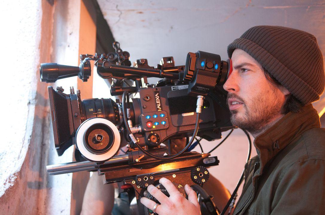 Regisseur Jason Reitman am Set ... - Bildquelle: Phillip Caruso 2011 Paramount Pictures and Mercury Productions, LLC. All Rights Reserved.