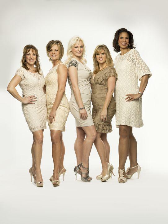 Diese Dance Moms lassen sich nichts gefallen: (v.l.n.r.) Jill, Kelly, Christi, Melissa und Holly ... - Bildquelle: Richard McLaren 2012 A+E Networks