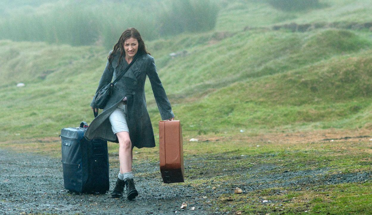 Nach einer geplatzten Hochzeit zieht sich die enttäuschte Katie (Kelly Macdonald) zurück auf die kleine schottische Insel Hegg. Doch ausgerechnet... - Bildquelle: Tiberius Film GmbH