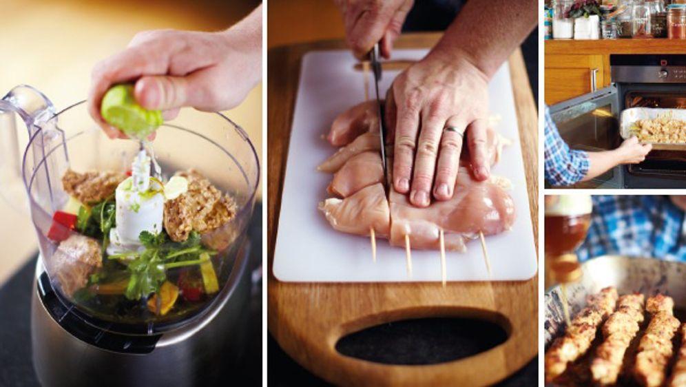 Hähnchenspieße Rezept Von Jamie Oliver Sixx