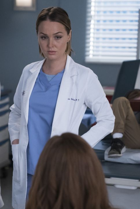 Ein kleiner Patient hat ein Kinderspielzeug verschluckt. Seine Mutter ist eine alte Bekannte im Grey Sloan und lässt Jo (Camilla Luddington) an ihre... - Bildquelle: Eric McCandless 2017 American Broadcasting Companies, Inc. All rights reserved./Eric McCandless