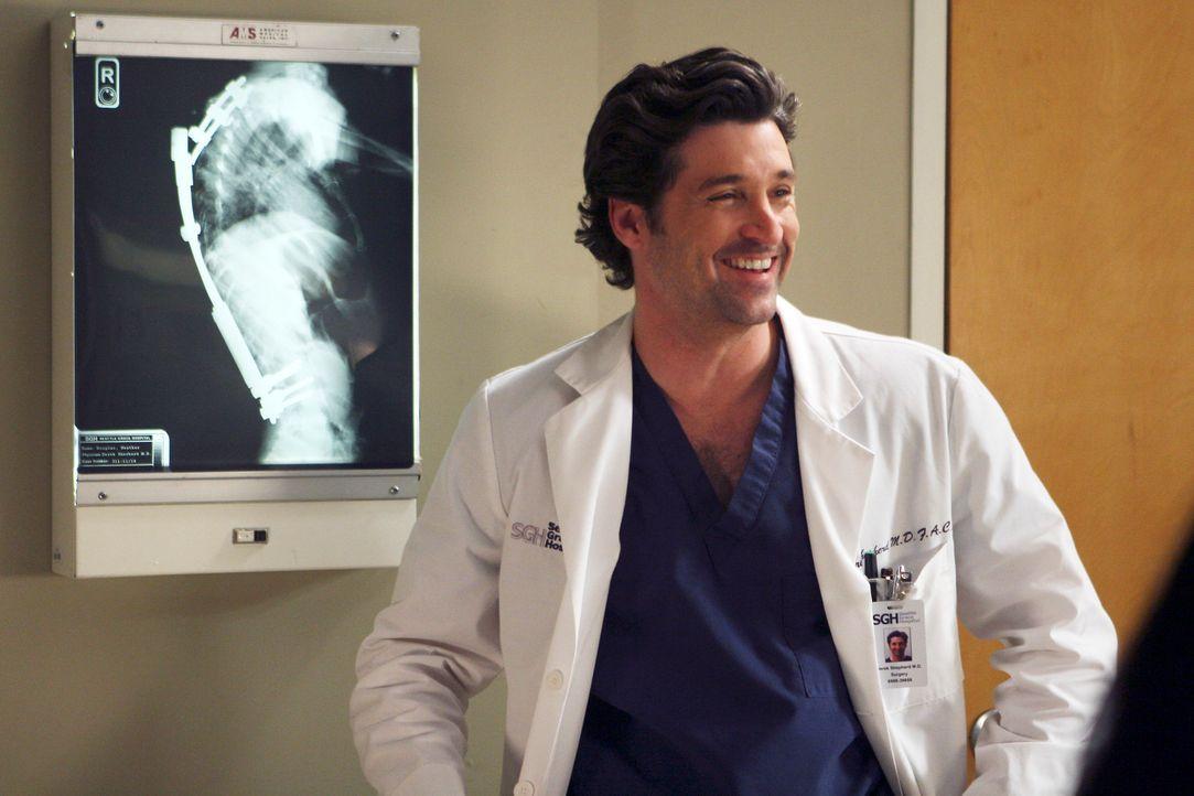 Erklärt sich bereit, Heather zu operieren: Derek (Patrick Dempsey) ... - Bildquelle: Touchstone Television