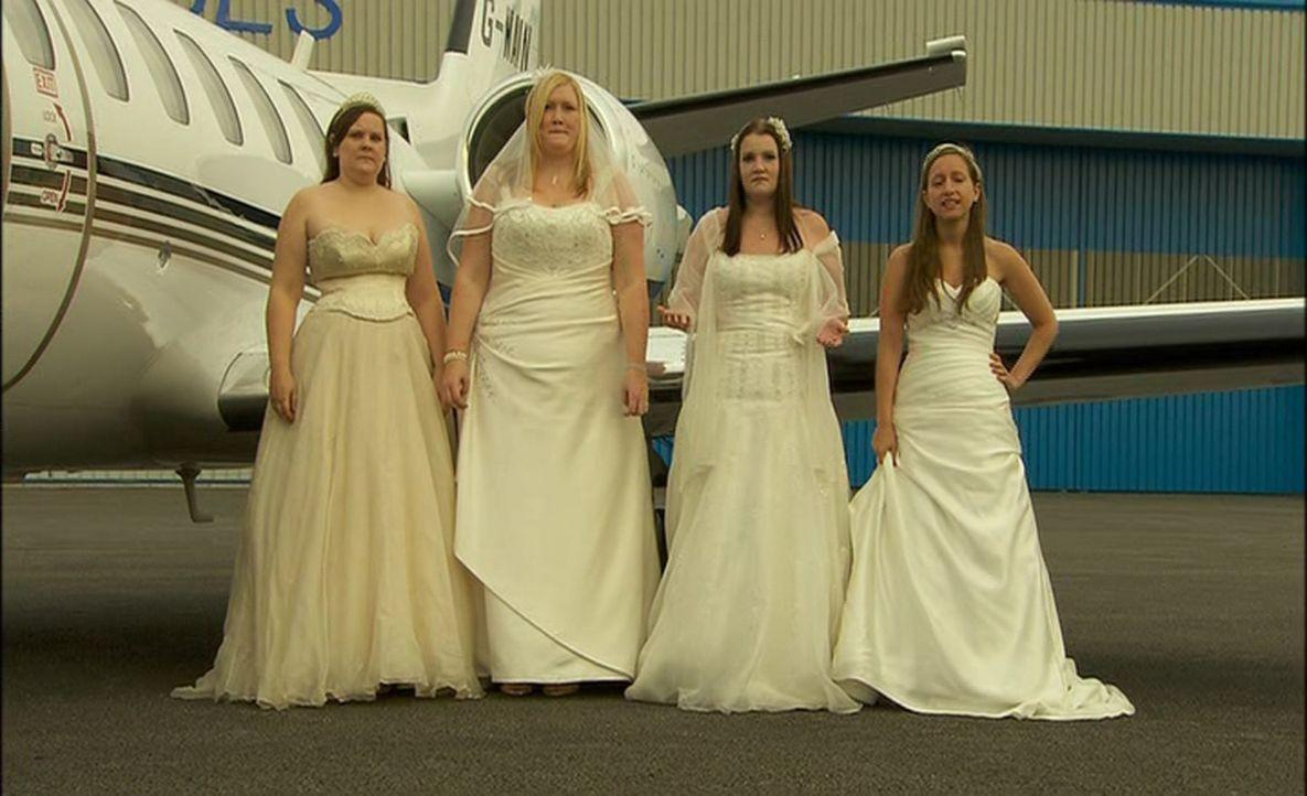 Unterschiedlicher könnten die Hochzeiten gar nicht sein, doch wer richtet die perfekte Hochzeit aus? - Bildquelle: ITV Studios Limited 2012