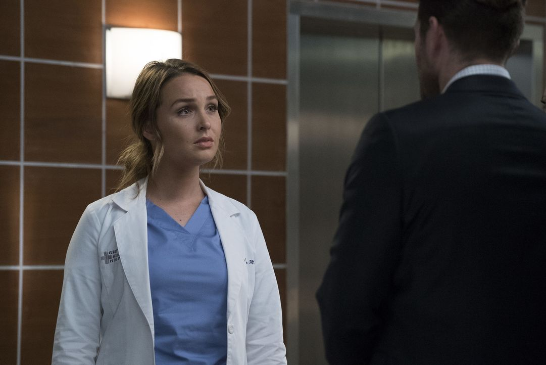 Jo (Camilla Luddington) muss sich mit ihrem gewalttätigen Mann auseinandersetzen, als dieser im Grey Sloan auftaucht ... - Bildquelle: Richard Cartwright 2017 American Broadcasting Companies, Inc. All rights reserved./Richard Cartwright