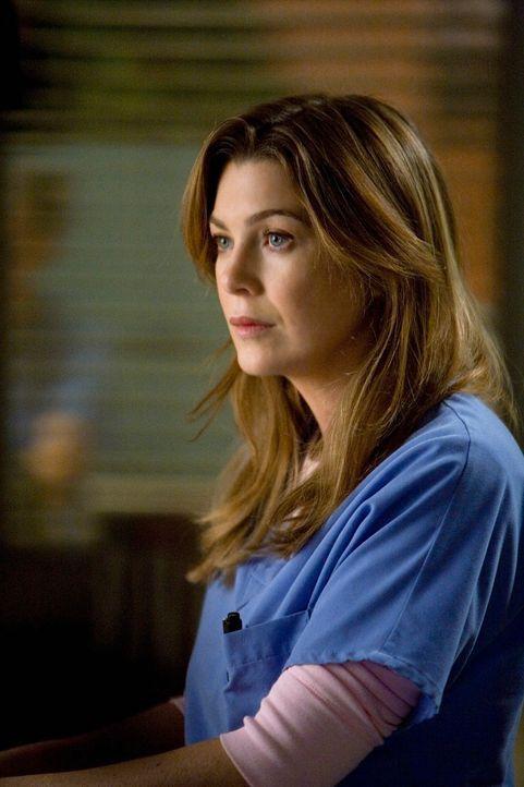 Sieht mit Schrecken einem Besuch von Dereks Mutter Carolyn Shepherd entgegen: Meredith (Ellen Pompeo) ... - Bildquelle: Touchstone Television